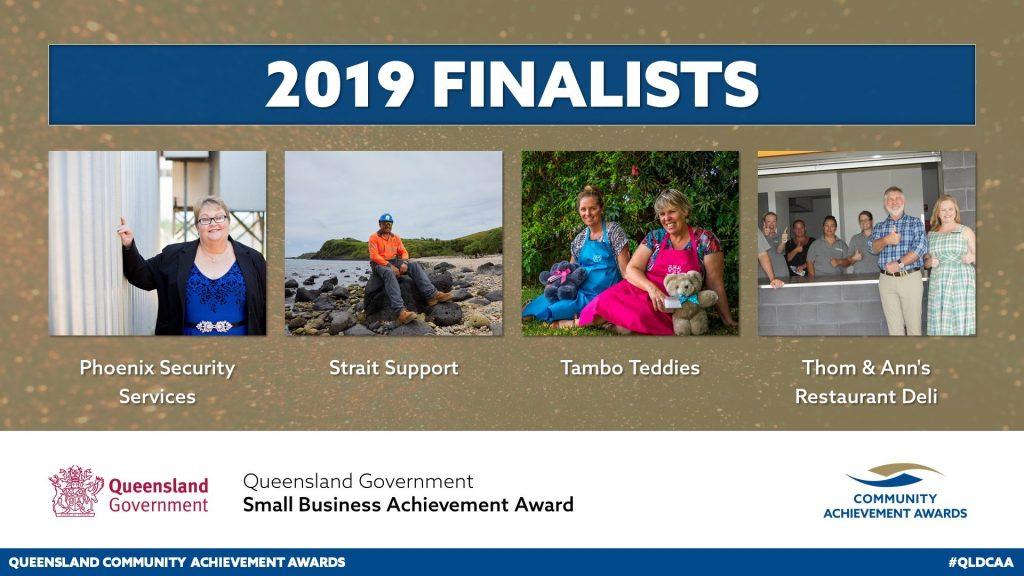 Strait Support is a finalist!