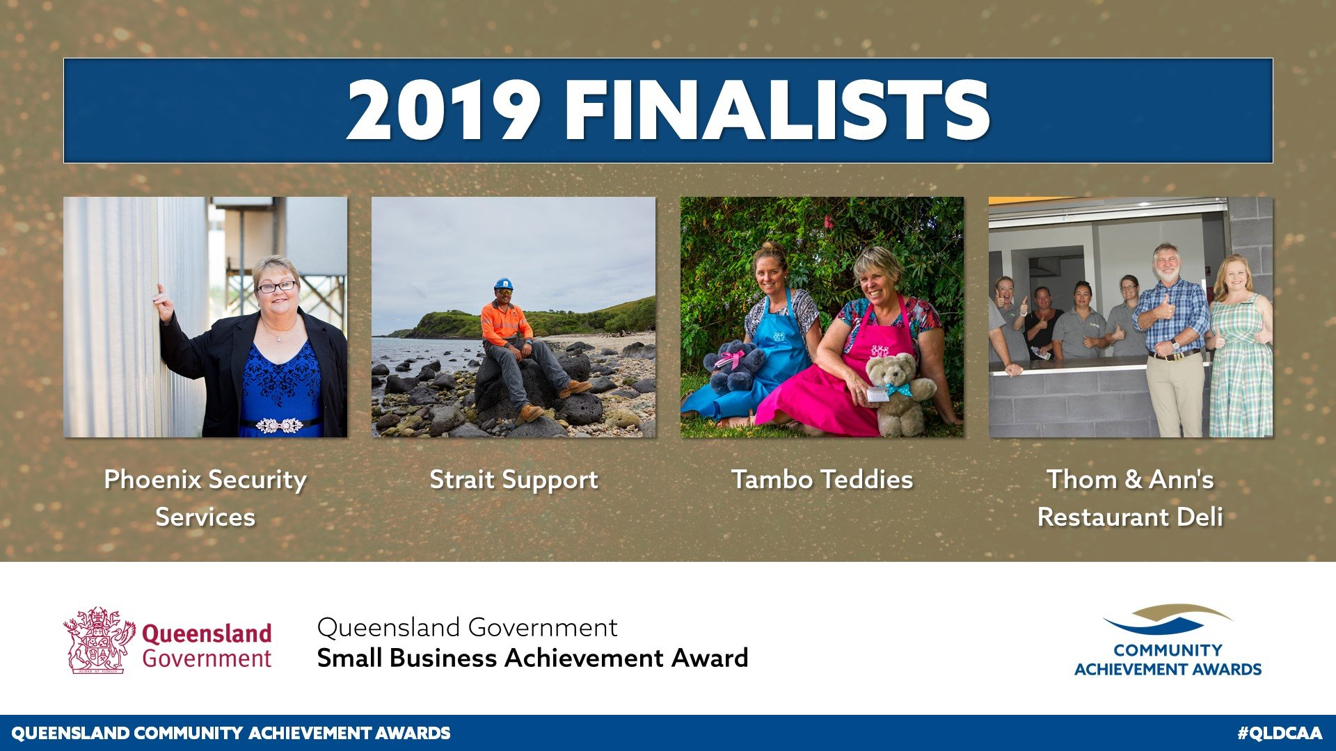 Strait Support is a finalist!