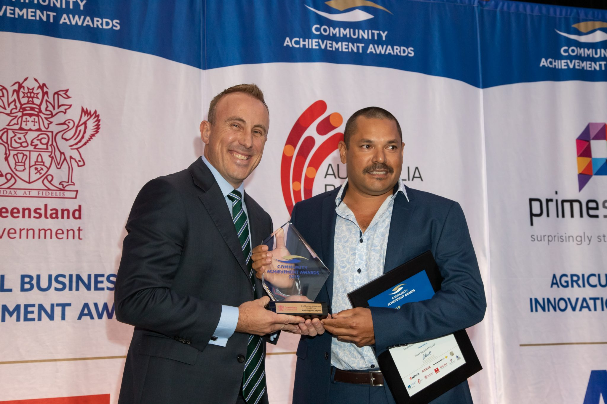 Strait Support wins small business achievement award!